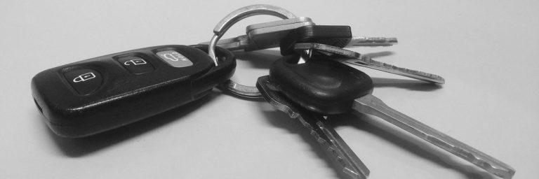 kradzież pojazdu z kluczykami